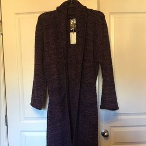 NWT Barefoot Dreams Cozy Chic Heathered Robe
